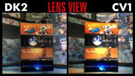 Вот как выглядит сравнение изображения в DK2 и CV1