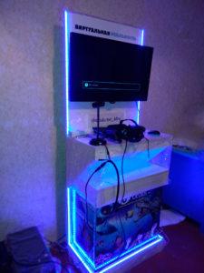 Стойка аттракциона виртуальной реальности Хабаровск