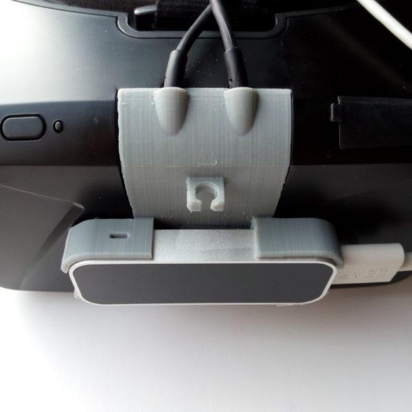 Крепление Leap Motion на Oculus Rift DK2