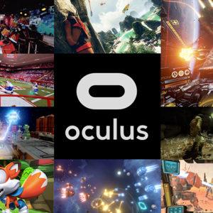 Набор из 55 игр для Oculus Rift CV1