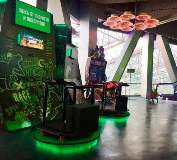 Аттракцион виртуальной реальности VR PLATFORM