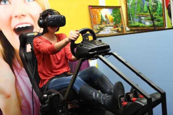 Автосимулятор виртуальный реальности