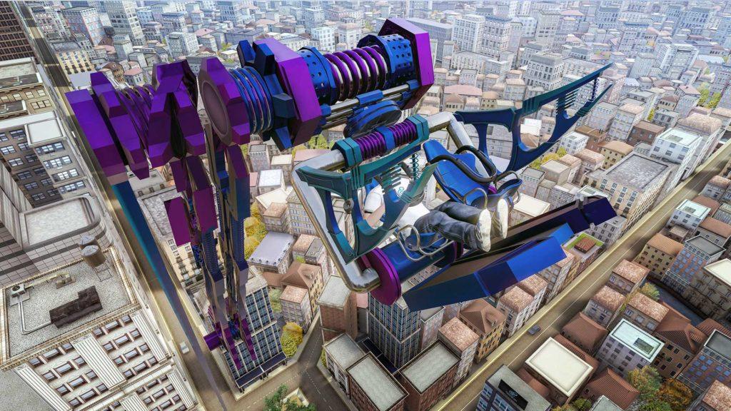 Ultimate Booster игра для аттракциона виртуальной реальности