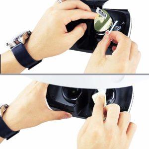 Защитная пленка PS VR как наклеить