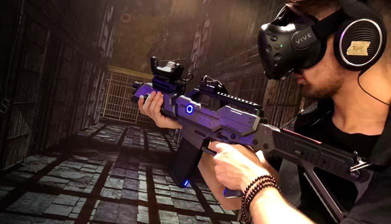 Автомат PP Gun Controller для HTC Vive с Vive Tracker 1.0