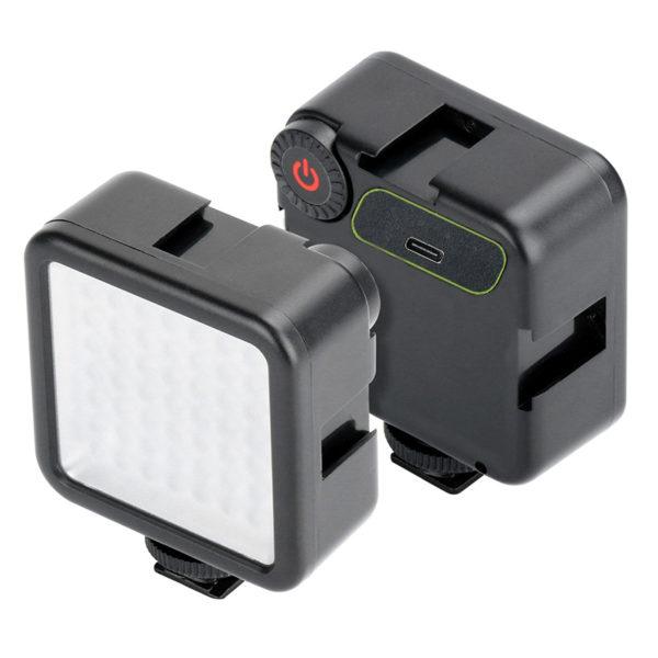 Лампа светодиодная осветительная для камер Canon/Nikon/Sony и смартфонов KLW49s