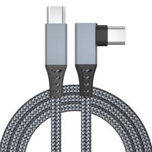 Кабель нейлоновый для Oculus Link (Oculus Quest 1,2) USB Type C - Type C 3.1, 6 метров